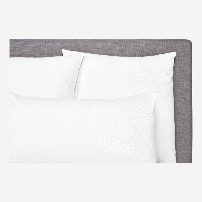 200 x 200 embroidered duvet cover