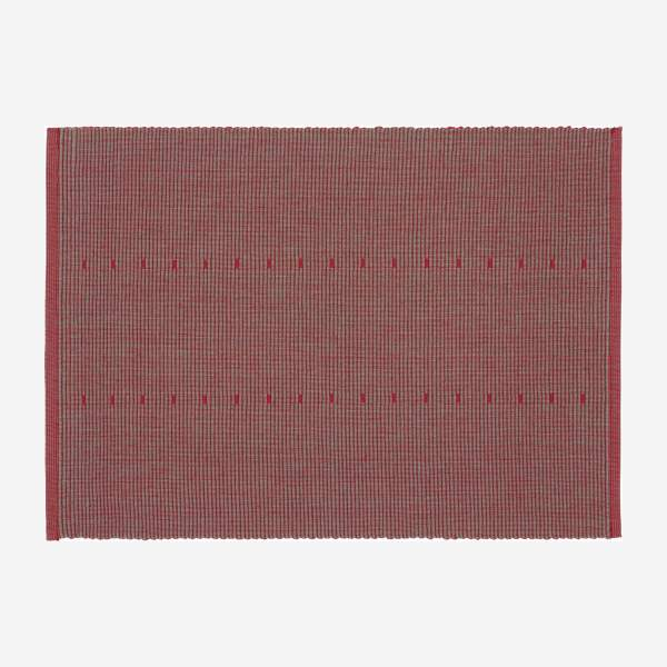 Table runner 40x200, red