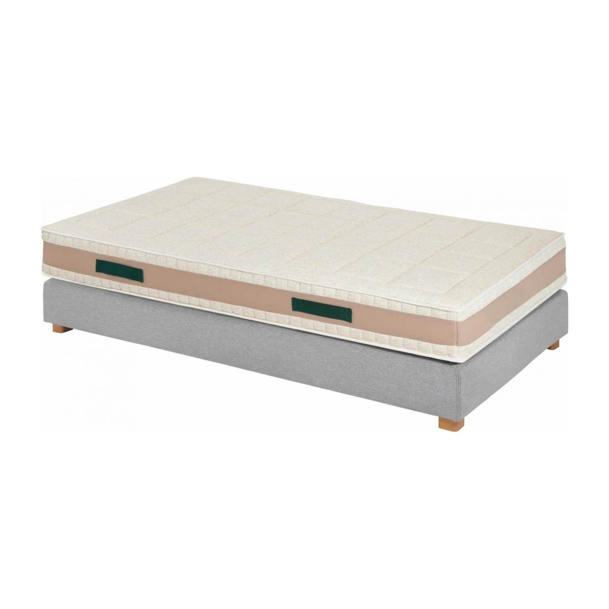 Latex mattress , width 23 cm, 90x200cm - firm support n°5