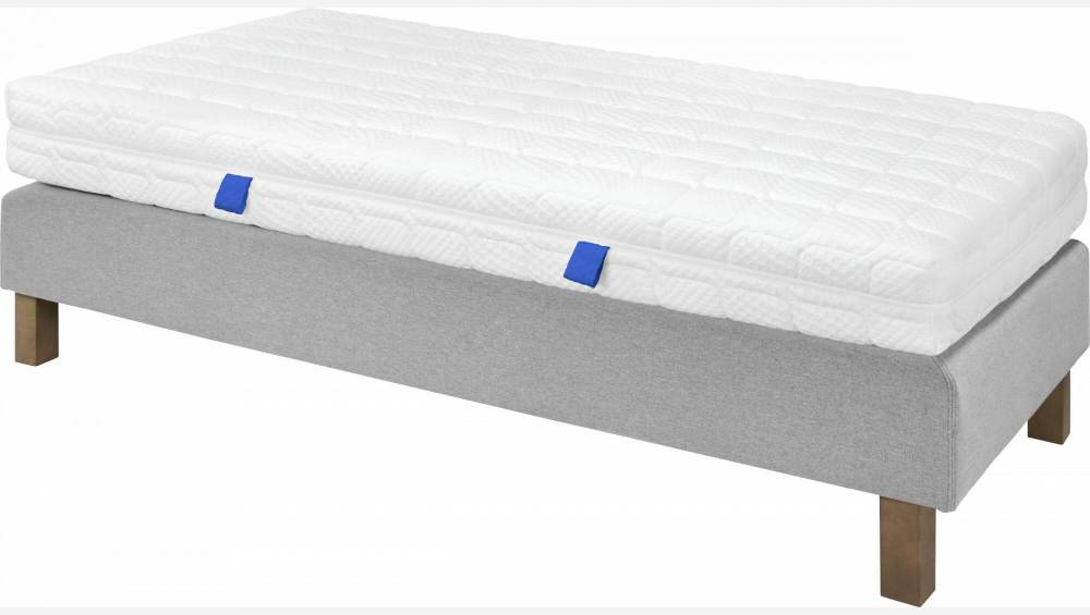 Spring mattress, width 22 cm, 80x200cm - medium support