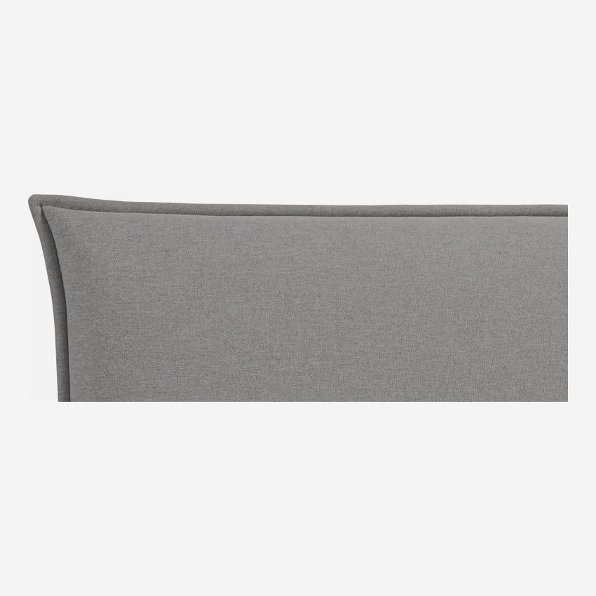 Headboard for 140cm box spring in fabric, mouse-grey