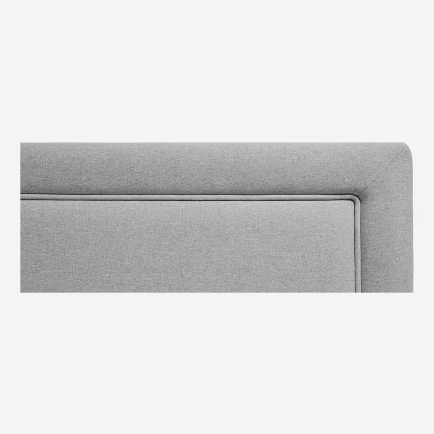 Headboard for 180cm box spring in fabric, mouse-grey
