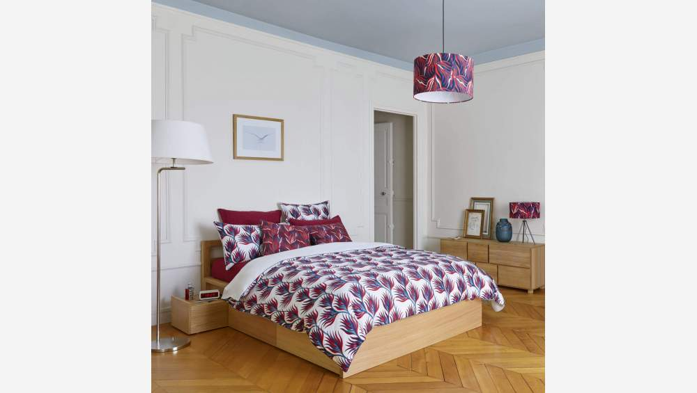 Duvet cover made of cotton 200x200cm, with patterns