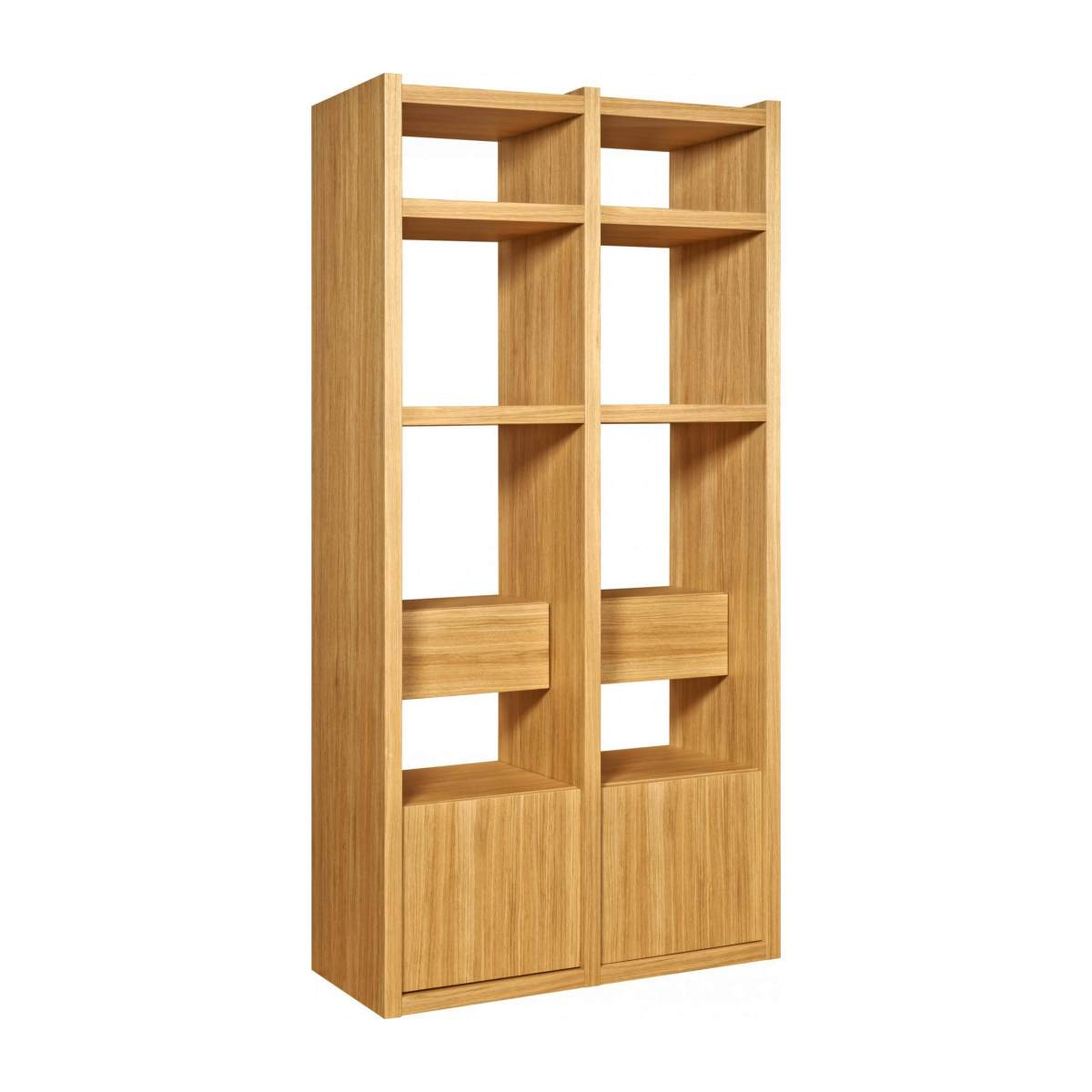Extension for small oak shelving unit n°3