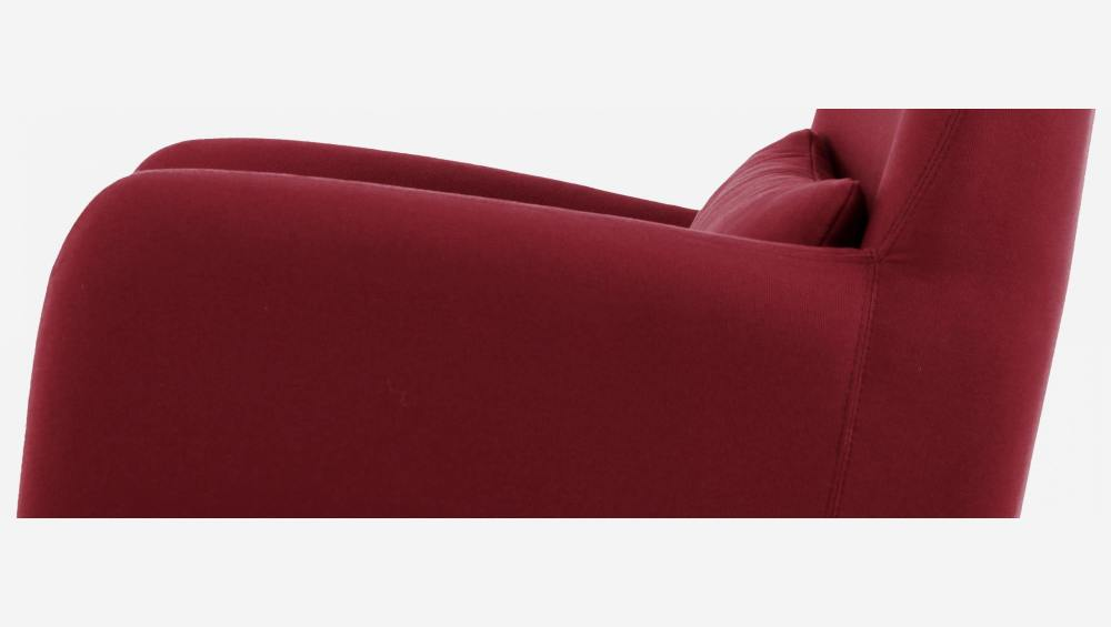 Fabric armchair