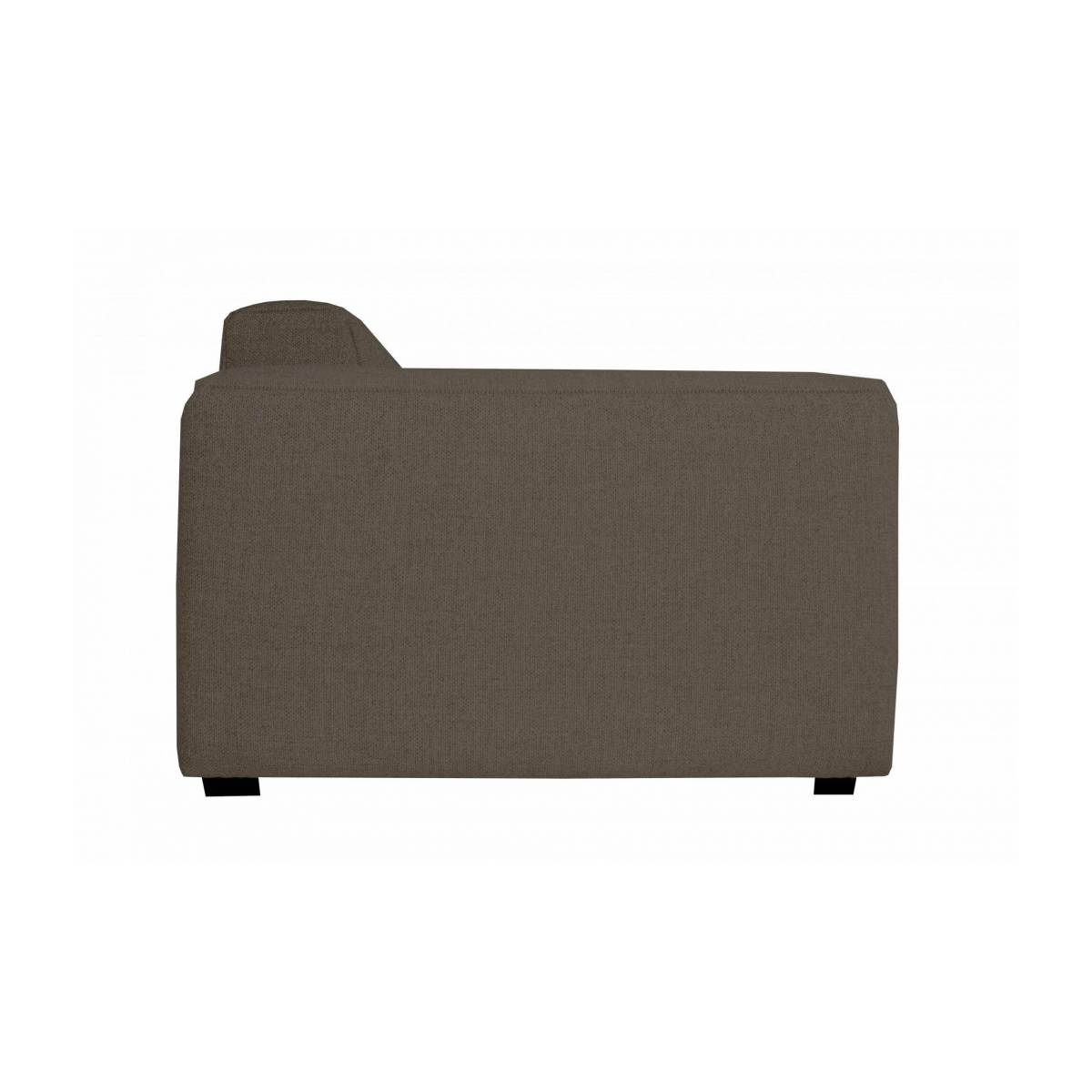 4 seater sofa in Lecce fabric, muscat n°3