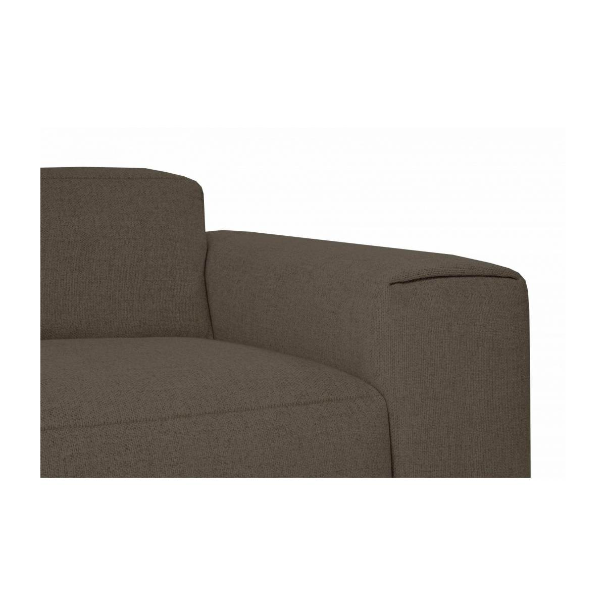 4 seater sofa in Lecce fabric, muscat n°5