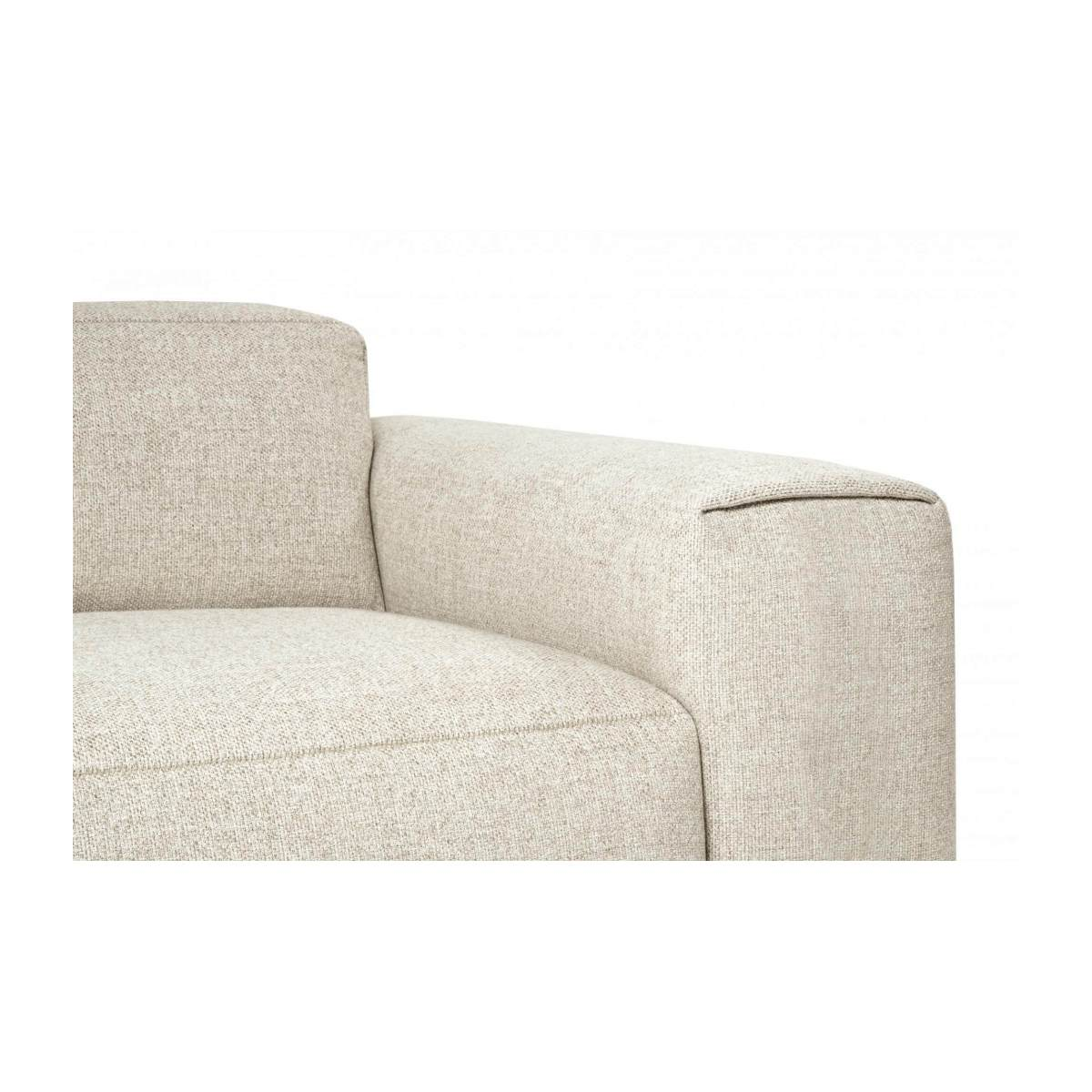 4 seater sofa in Lecce fabric, nature n°6