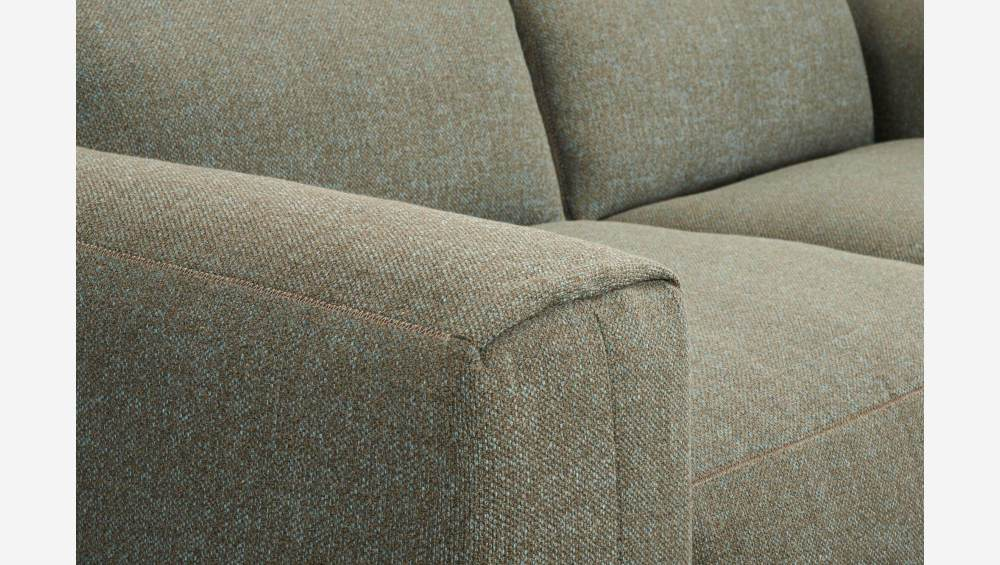 4 seater sofa in Lecce fabric, slade grey