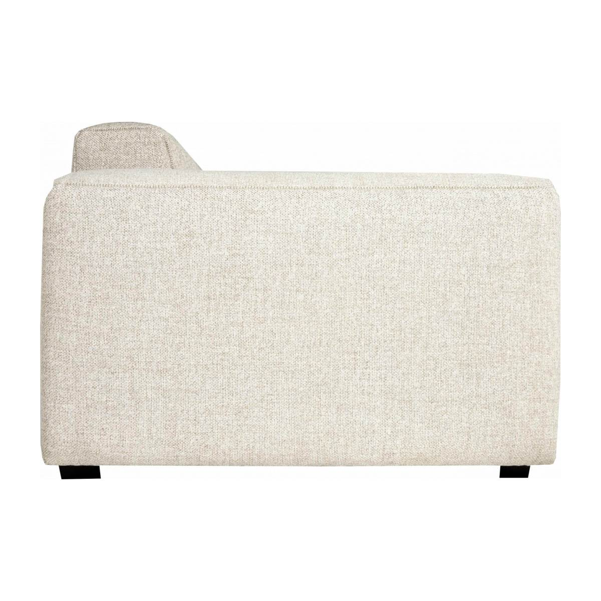 3 seater sofa in Lecce fabric, nature n°3