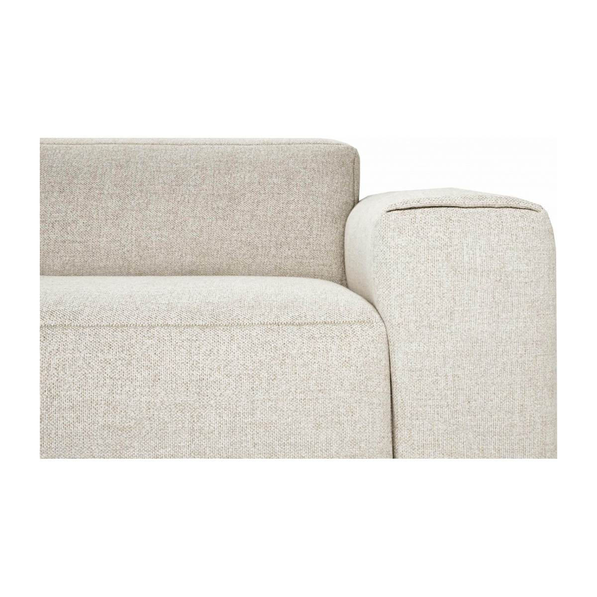 3 seater sofa in Lecce fabric, nature n°4