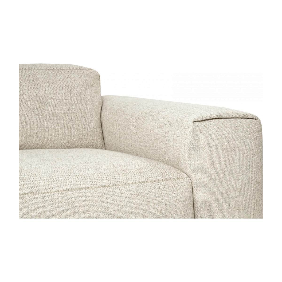 3 seater sofa in Lecce fabric, nature n°5