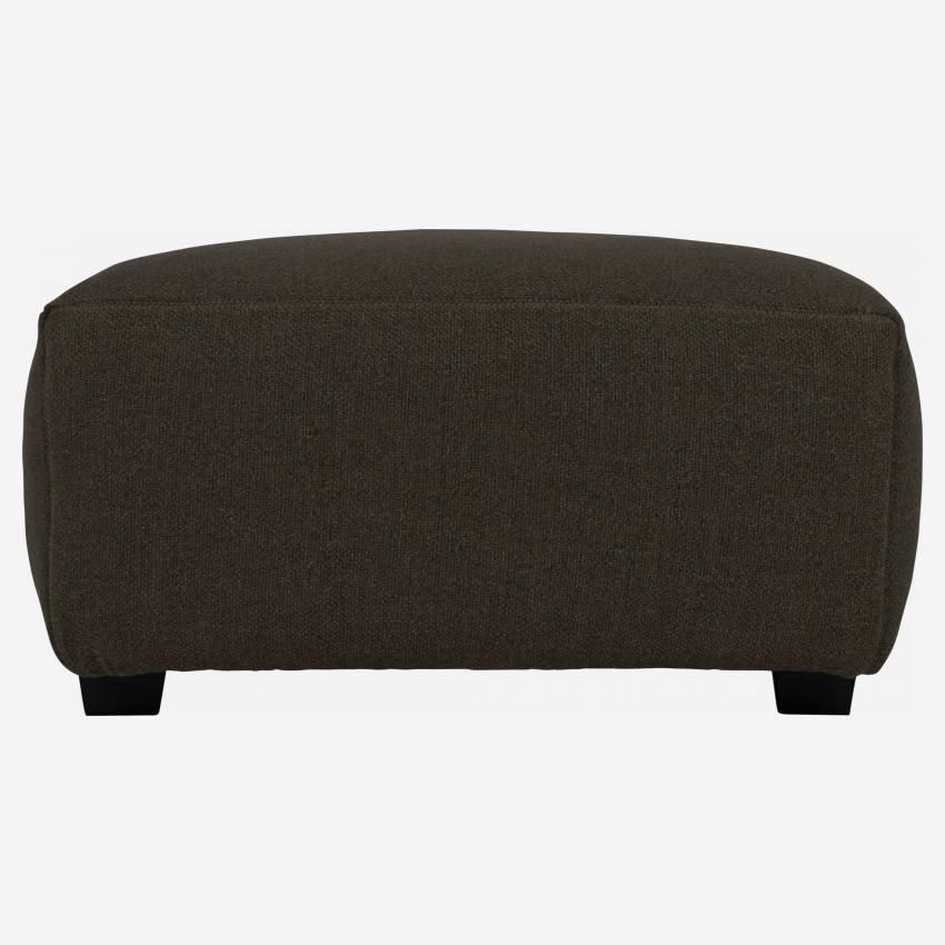 Footstool in Lecce fabric, muscat