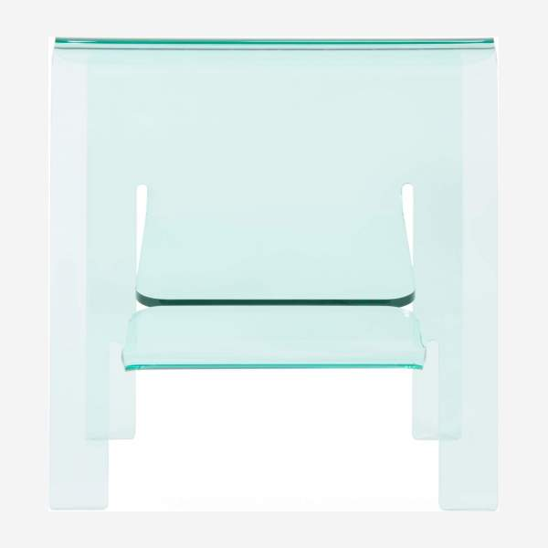 Side table en acrylique, transparent