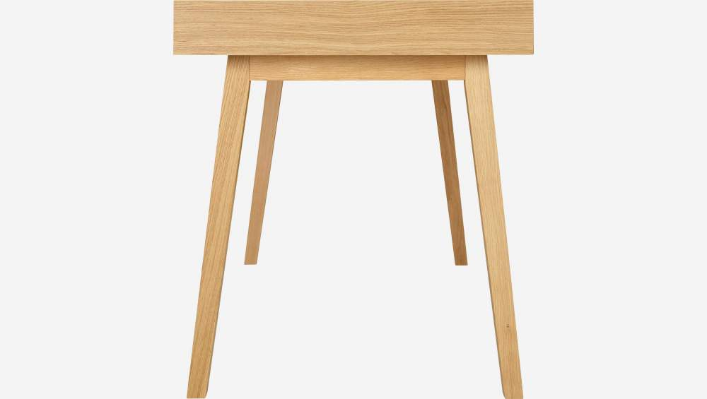 Big oak desk