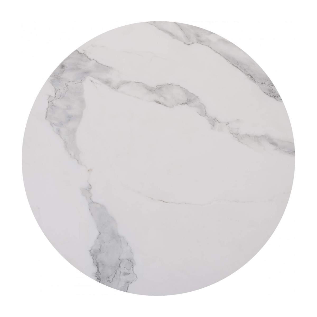 Low table in white marble n°2