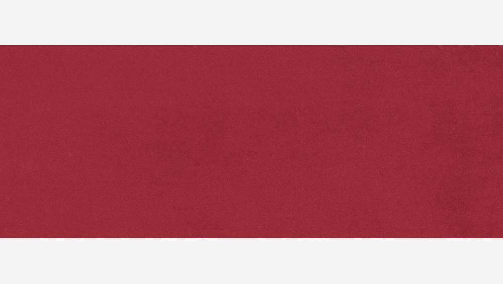 Sessel aus Samt - Rot - Design by Adrien Carvès