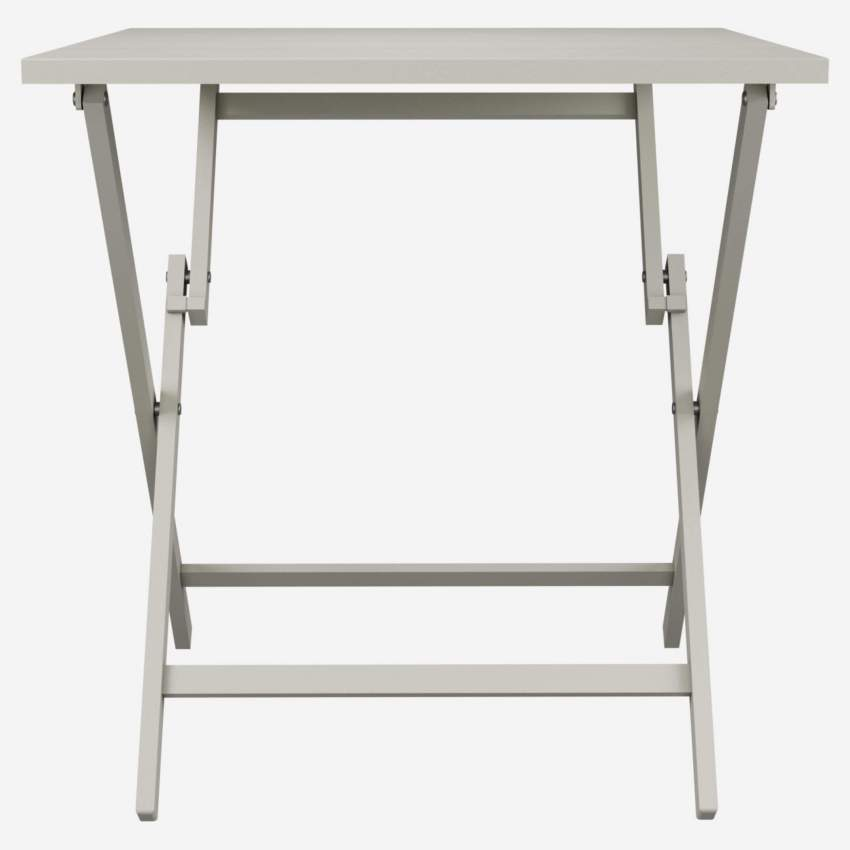 Table pliante en aluminium - Gris