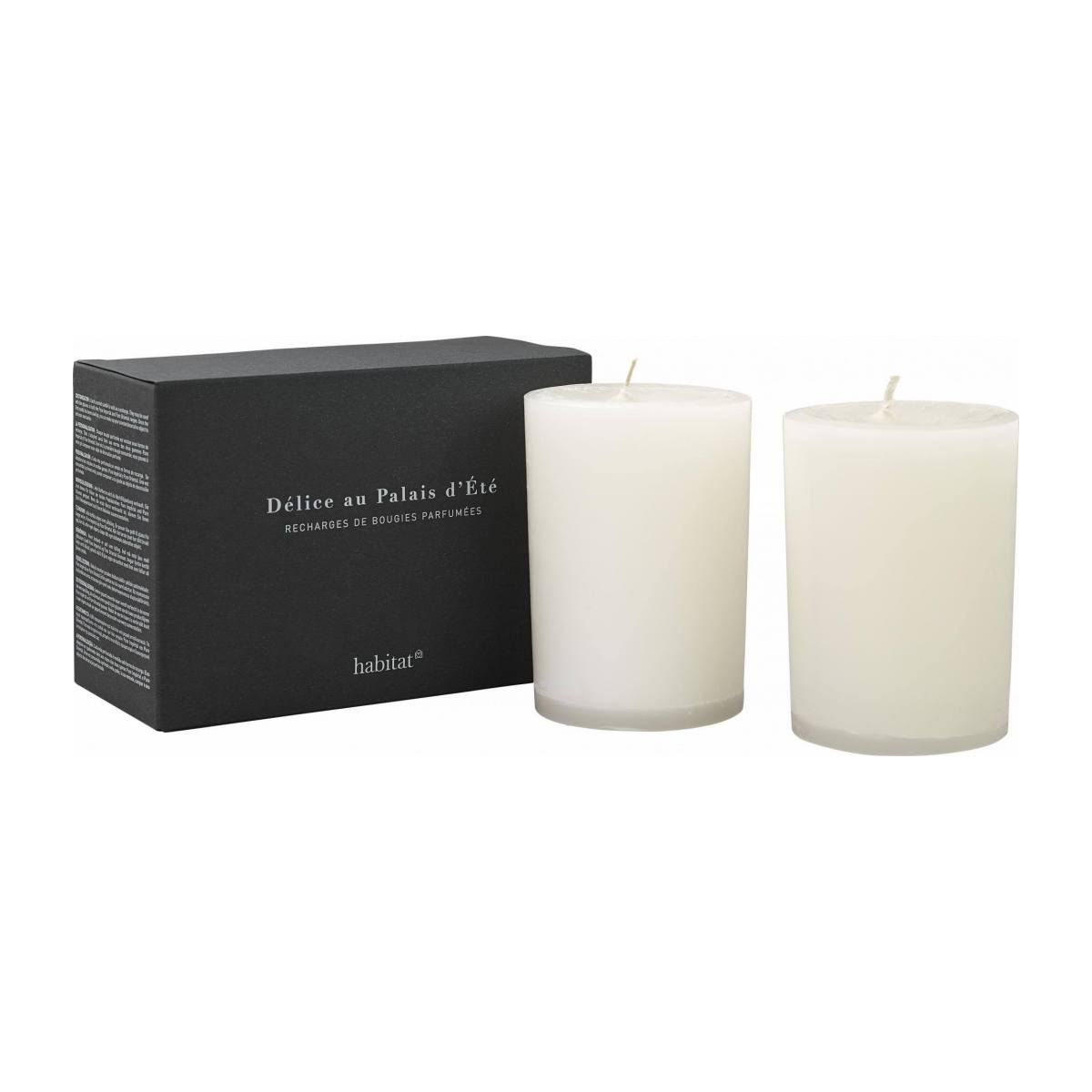 Refill for 2 medium Palais scented candles, 2 x 300g n°4