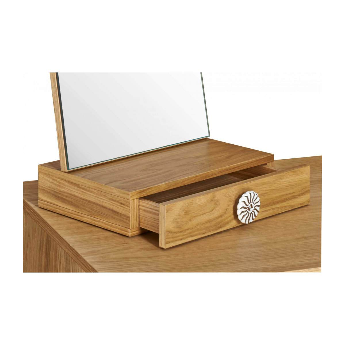 Mirrored 5 drawer dressing table n°8
