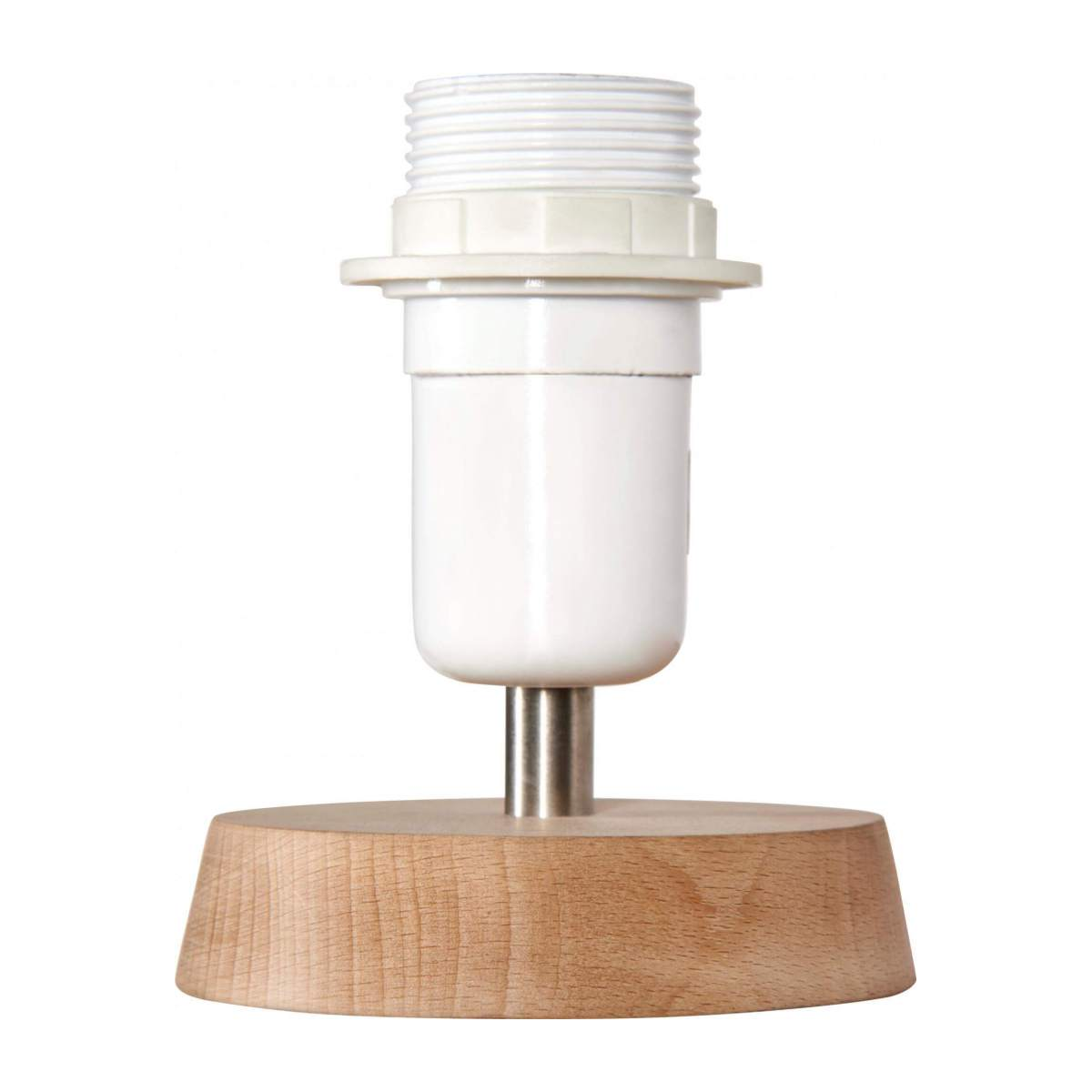 Wooden lamp stand n°3