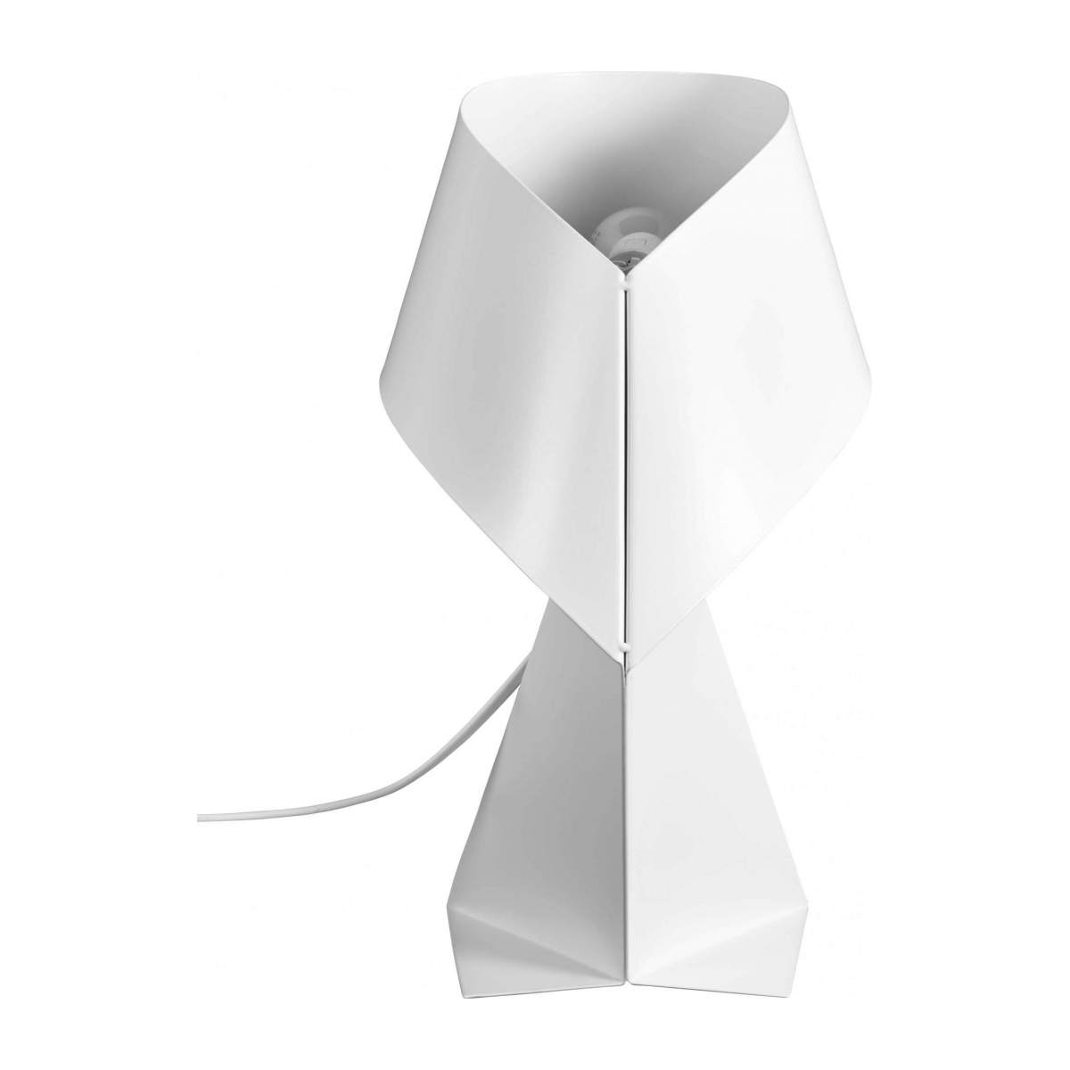 Small white table lamp  n°3