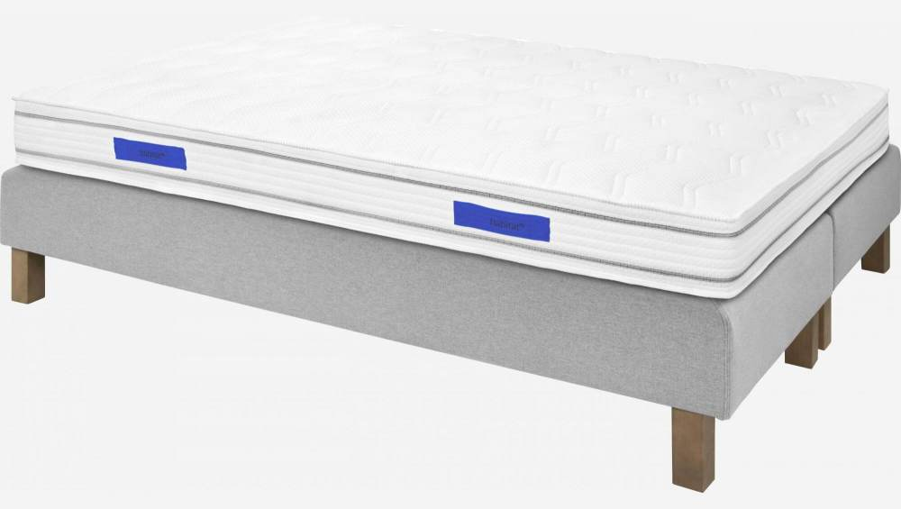 Spring mattress, width 21 cm, 140x200cm - medium support