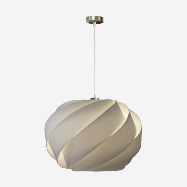 Suspension en tissu  - 52 x 35 cm - Naturel