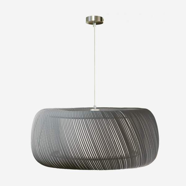 Suspension en tissu  - 57 x 25 cm - Gris