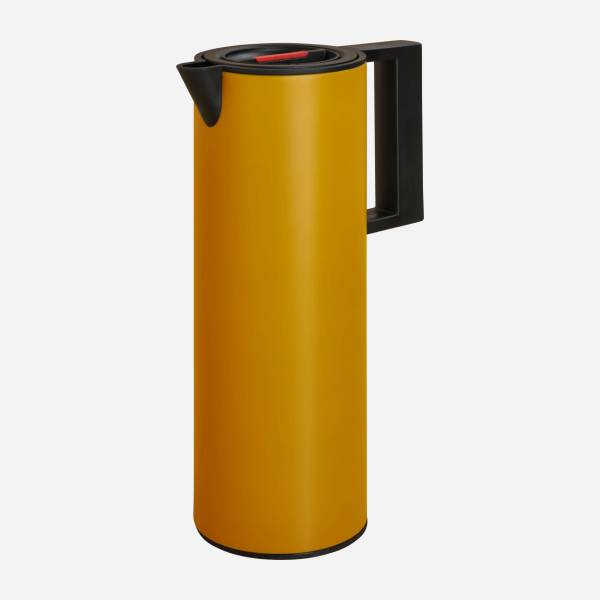 Plastic isothermal bottle - 1L - Yellow