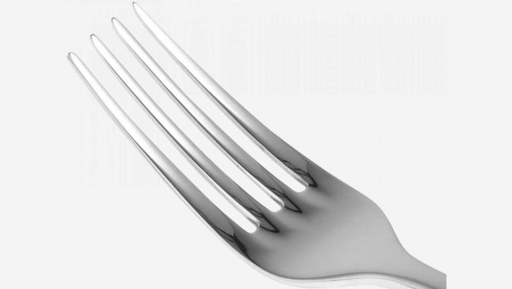 Stainless steel table fork