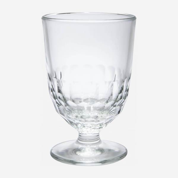 High stemmed glass