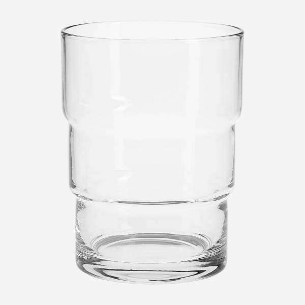 Becher aus Glas - 340 ml - Transparent
