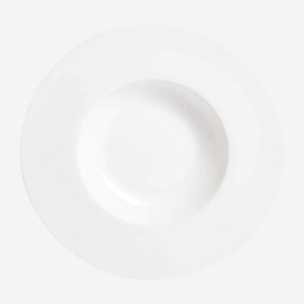 Porcelain risotto plate - 30 cm - White