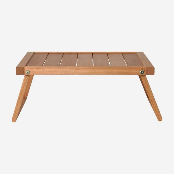 Wooden bed tray - 45 cm