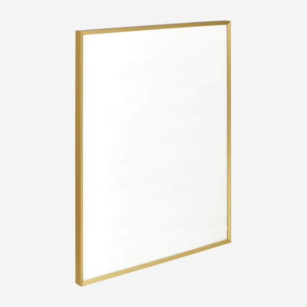 Marco de pared de metal - 40 x 50 cm - Dorado