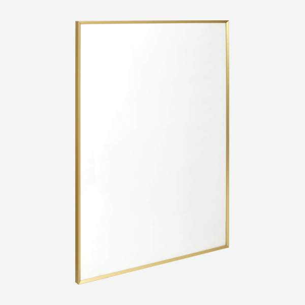 Marco de pared de metal - 50 x 70 cm - Dorado
