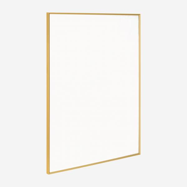 Marco de pared de metal - 60 x 80 cm - Dorado