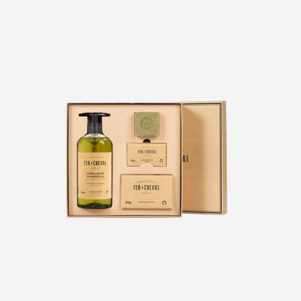 Coffret trio authentique Olive