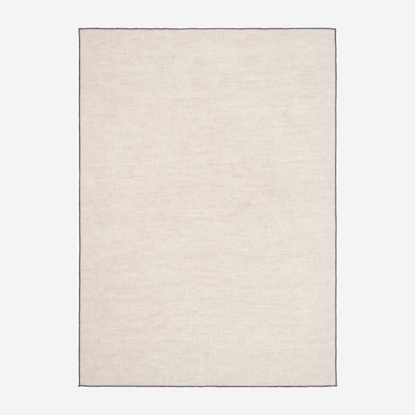 Kitchen towel 50x70cm made of flax, beige