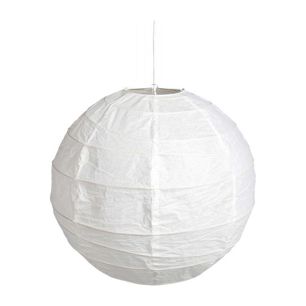 Boule japonaise ceiling light lampshade 60 cm habitat - Boule a the ikea ...