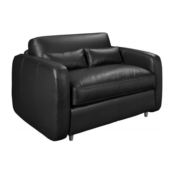 bosco ii kompaktes schlafsofa mit lederbezug habitat. Black Bedroom Furniture Sets. Home Design Ideas