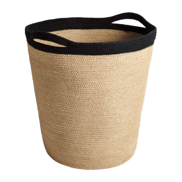 jute jute jute laundry basket habitat. Black Bedroom Furniture Sets. Home Design Ideas