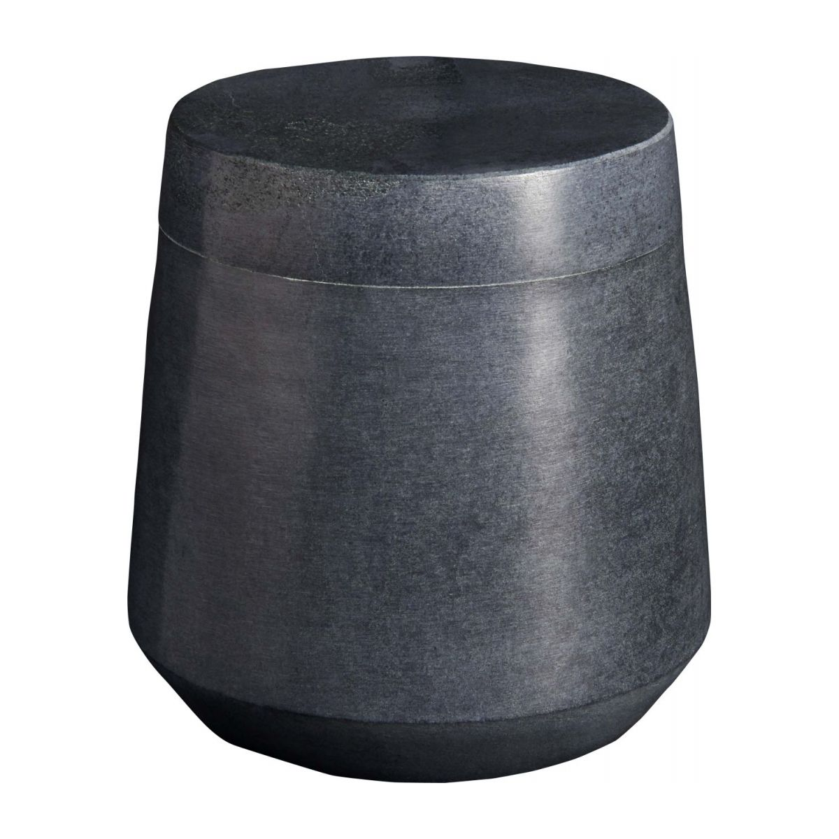 Grey soapstone coton box n°1