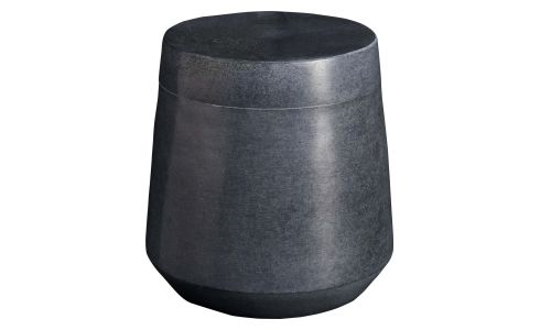 Grey soapstone coton box