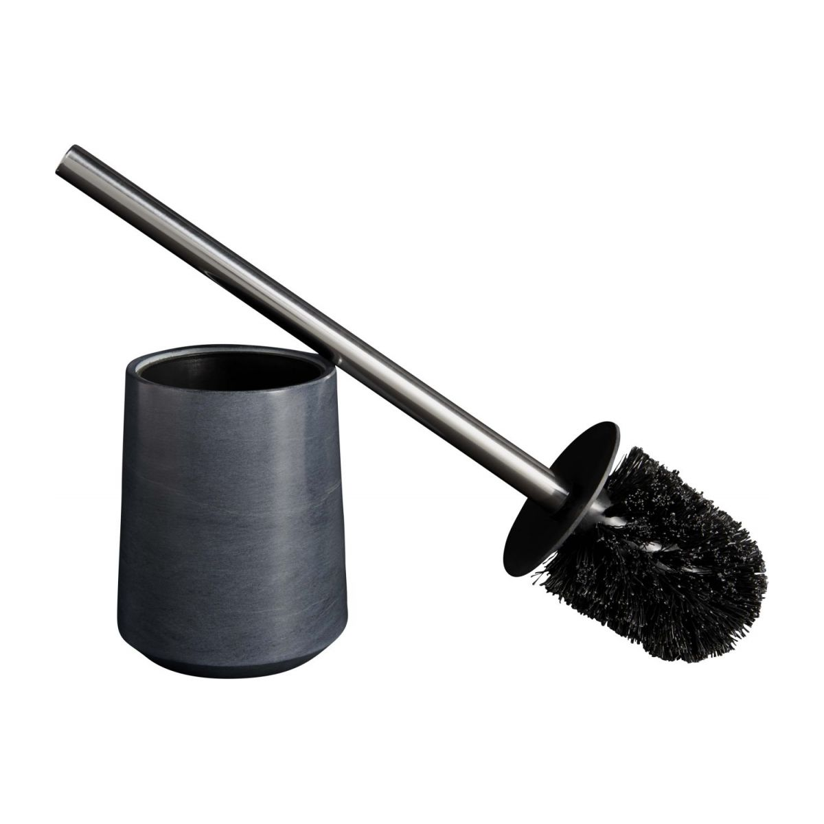 Grey soapstone toilet brush n°2
