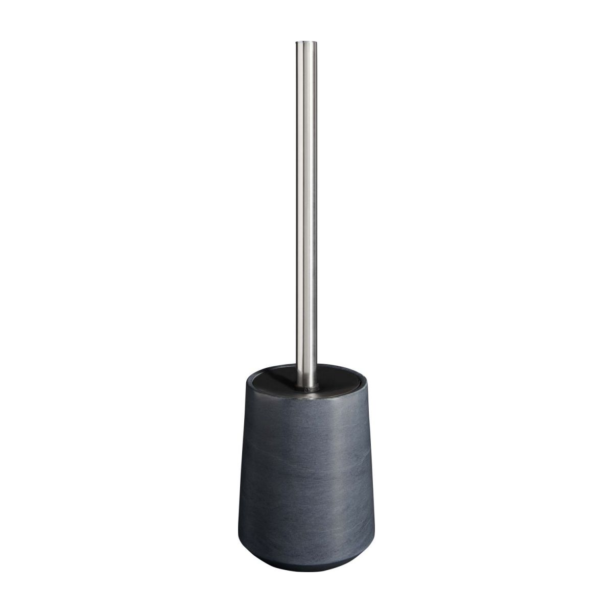 Grey soapstone toilet brush n°1