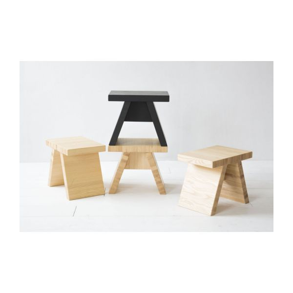 tap tabouret en fr ne naturel de style japonais habitat. Black Bedroom Furniture Sets. Home Design Ideas