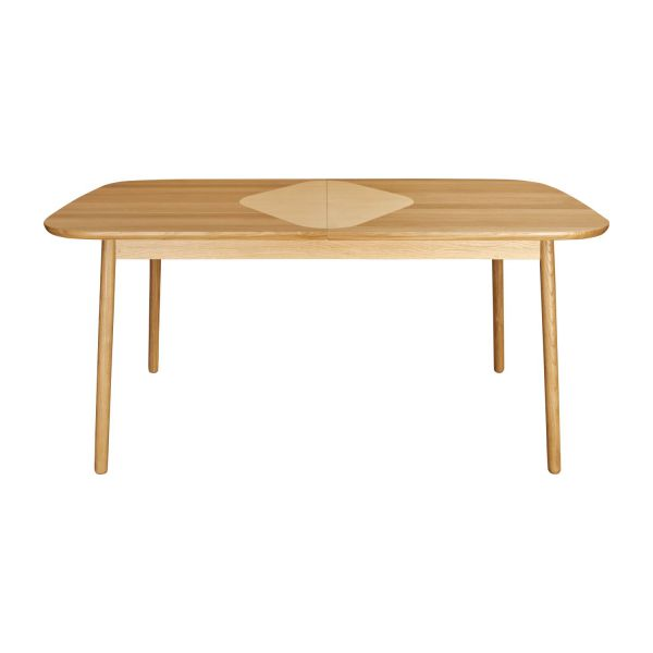 Losange table de salle manger extensible en ch ne for Table de salle a manger habitat
