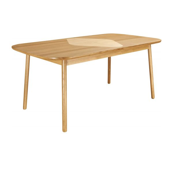 Losange table de salle manger extensible en ch ne for Table de salle a manger chez but